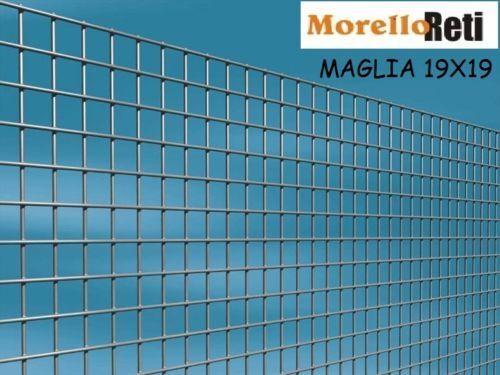 economico RETE ZINCATA PER GABBIE    MAGLIA 19X19  H100 LUNGHEZZA METRI 25 FILO . 1.50MM  garanzia di qualità