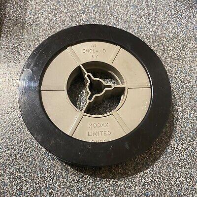 Kodak Standard 8mm 50ft Cine Film 3 inch Reel Spool /& case with film on it 5
