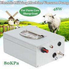 Electric Milking Machine Pulsation Vacuum Pump Farm Cow Sheep Goat Donkey Horse