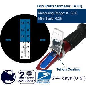 0-32-Brix-Maple-Sap-Jam-Sauces-Juice-Concentrates-etc-Refractometer-Test