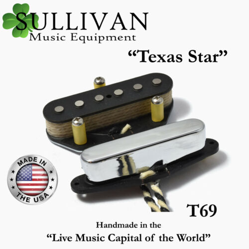T69-OW SME Over Wound Tele Pickups Hand Wound Telecaster Texas Star SME
