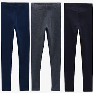EX-NEXT-Kids-Girls-Stretch-Cotton-Blend-Basic-Leggings-Trouser-Pants-4-to-16-YRS