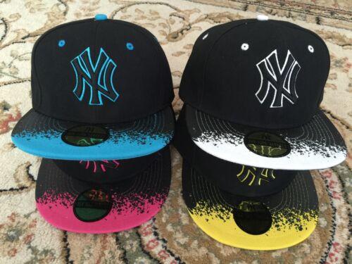 All/'ingrosso Lavoro Lotto di 5 X Unisex Cappellino Cappello Hip Hop Berretto Da Baseball UK