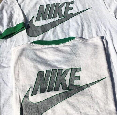 Lot Of 2 Vtg 70s Nike Shirts Soccer pinwheel