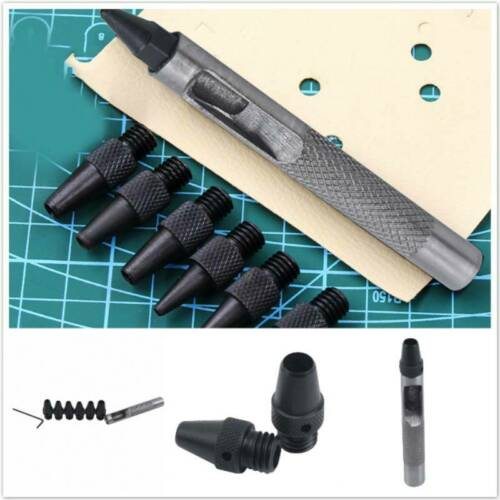 Belt Punching Tool Kits Hole Puncher Leather Craft Modern High Quality Durable S