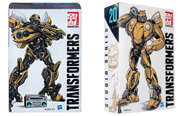 Transformers SDCC Bumblebee Vol 1 Retro Rock Garage Studio Series 19