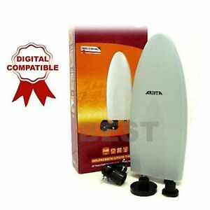 NEW-AMPLIFIED-OUTDOOR-DIGITAL-TV-ANTENNA-CARAVAN-BOAT