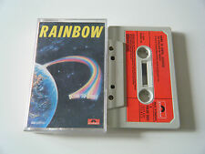 RAINBOW DOWN TO EARTH CASSETTE TAPE 1979 RED PAPER LABEL POLYDOR UK