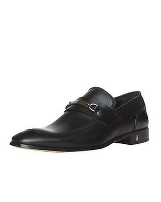 VERSACE COLLECTION GENUINE LEATHER DRESS SHOES SZ 42.5/9.5 RETAIL $580. BR. NEW