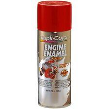 Duplicolor DE1605 Engine Enamel Paint, Ford Red, 12 Oz Can