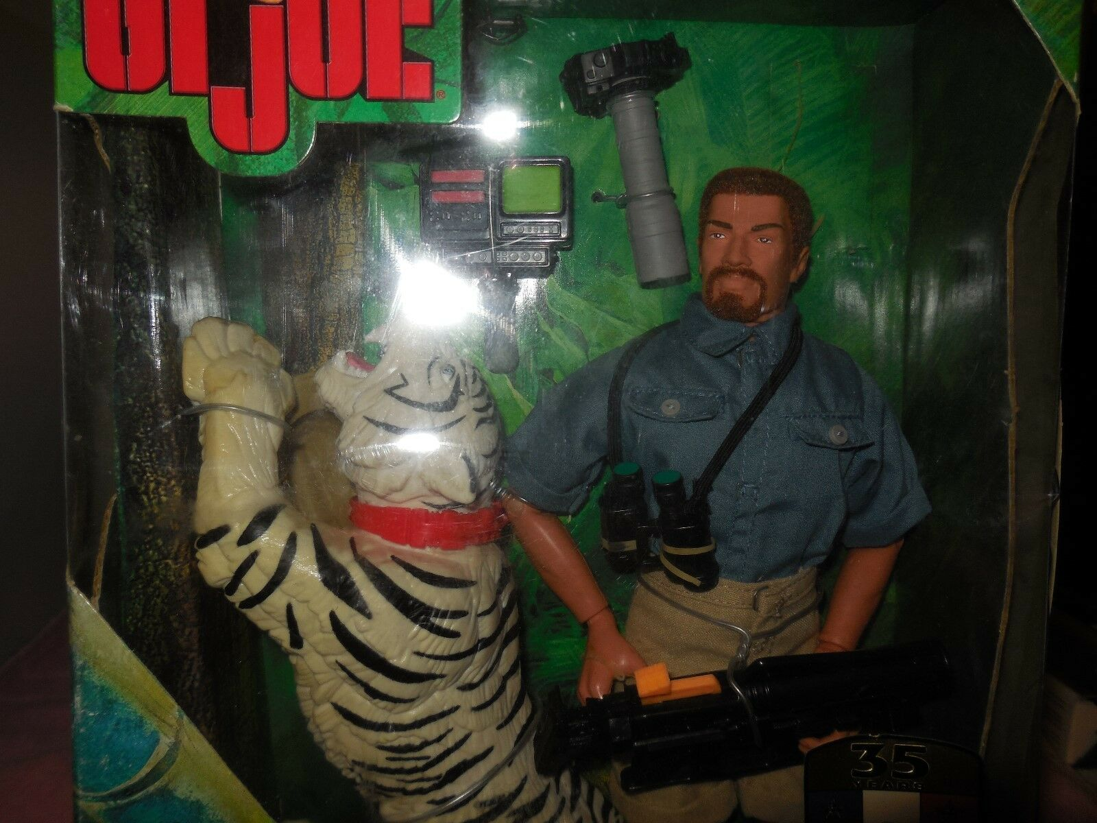 1999 g.i. joe save the the the tiger figure w the tiger eabc19