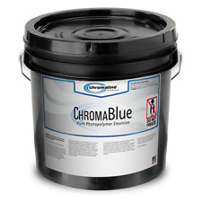 Chromaline Chromablue Emulsion Gallon 707g Chroma Blue