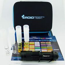 RoidTest Advanced Anabolic Steroid Field Test Kit - FAST HOME TESTING FOR FAKES