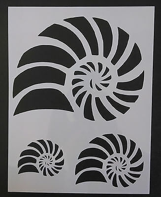 "Starfish Star Fish Seashell Sea Shells Multiple 8.5/"" x 11/"" Stencil FREE SHIPPING"
