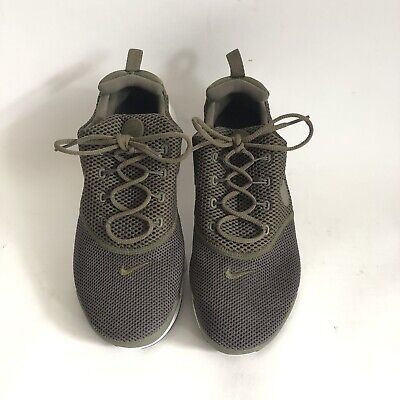 new product b4505 ee6f9 Nike Air Presto Fly Youth 7 Women's 8.5 Running Shoes Olive Green White |  eBay