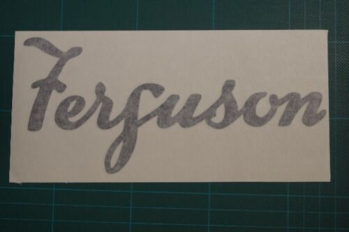 Ferguson vintage tractor logo decal sticker car van trailer caravan 30x13.5cm