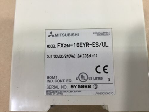 Mitsubishi Melsec FX2N-16EYR-ES//UL Module #05D51TK