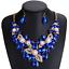 Fashion-Women-Pendant-Crystal-Choker-Chunky-Statement-Chain-Bib-Necklace-Jewelry thumbnail 5