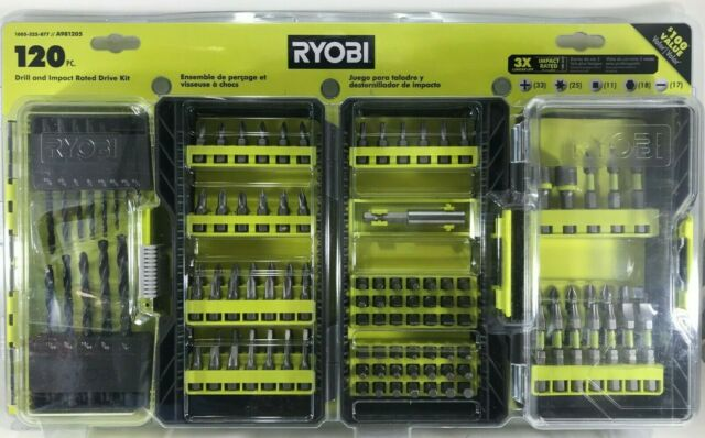 Ryobi  - A981205 -120 Piece Drill and Impact Rated Drive Kit