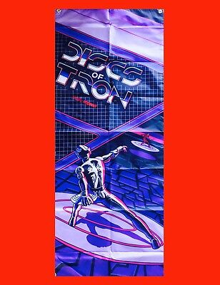 Arcade Video Game Banner Flag Poster LARGE TRON