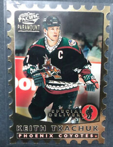 1998-99 Pacific Paramount Special Delivery #15 Keith Tkachuk Phoenix Coyotes