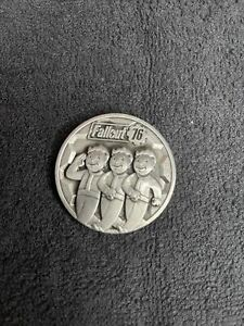 Bethesda Fallout 76 Challenge Coin military Appreciation Rare Promo Pip Boy