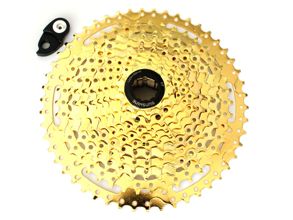 Sunshine 11 Speed Mountain Bike Cassette 11-46T w  Wide Range Components