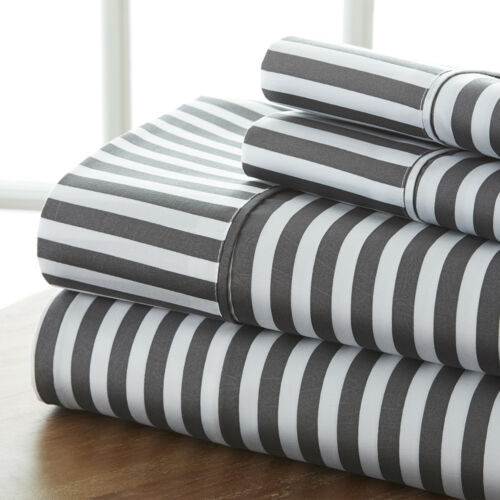 The Hotel Collection Premium 4 Piece Sheet Set Beautiful Ribbon Design