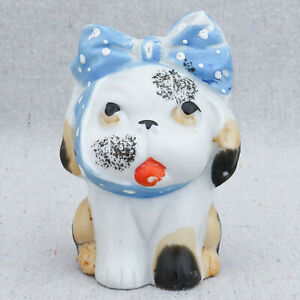 1930s-Porcelain-Bonzo-Bulldog-Pug-Puppy-Dog-Figurine-with-Toothache-Japan-3-034