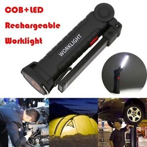 LED-COB-Rechargeable-Magnetic-Torch-Flexible-Inspection-Lamps-Cordless-Worklight