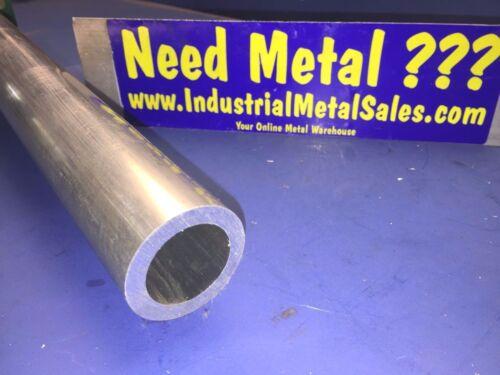 "1-3//4/"" OD x 48/""-Long x 1//4/"" Wall  6061 T6511 Aluminum Round Tube-/>1.750/"" OD"