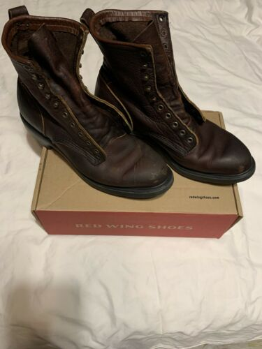 red wing boots 10.5 used