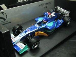 Wow extrêmement rare Sauber 2005 C24 Jacques Villeneuve British Gp 1:18 Minichamps