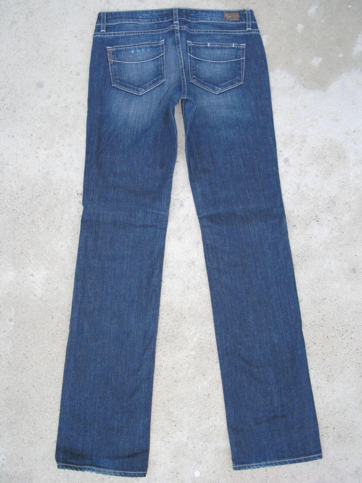 Paige Premium Jeans Womens Jimmy Jimmy Sz 26 Boyfriend Straight Distressed NEW