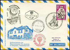 Austria 1971 Balloon Post Flight Cover #C16134