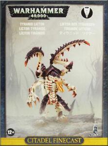 TYRANIDS lictor Warhammer 40K NEW Tyranid FINECAST Warhammer Miniatures, War Games