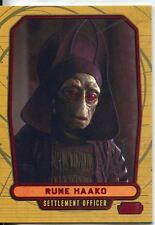 Star Wars Galactic Files Red Parallel #9 Rune Haako