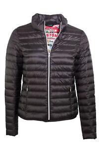 Steppjacke Jacke Details echte Jacke leichte zu Daunenjacke Milestone Damen schwarz leicht qMSpzVU