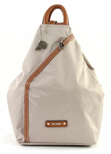 PICARD Sonja Backpack Tasche Rucksack Freizeitrucksack Damen Beige Perle Leicht