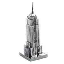 Fascinations Metal Earth 3D Laser Cut Steel Model Kit Empire State Building