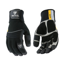 The Yeti Insulated Gloves Waterproof Winter Insulated Work Gloves Pvc Grip