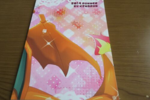 Doujinshi POKEMON Charizard X Greninja KEMORUN Osyugyo shimasyo A5 22pages