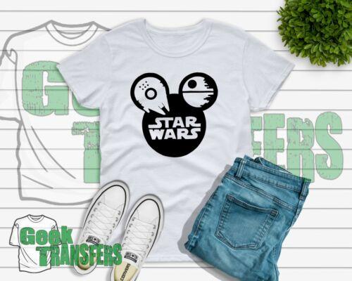 Star Wars Disney Thème T-Shirt Enfants Adultes Enfants Femme Free UK POST Gold