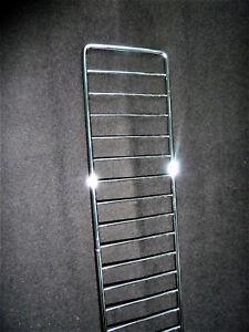 Frontgitter 10x Gitter 66,5cm H 9,5cm Einsteckgitter Chrom Tegometall Tego Linde