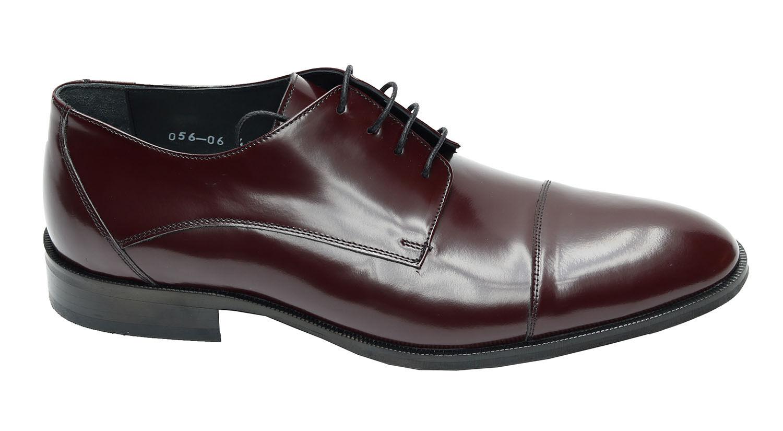 Billig gute Qualität Muga Herren Schuhe Echtleder560Gr.43 Bordeaux