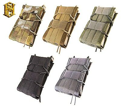 HSGI MOLLE or BELT Mount Rifle Taco LT Mag Pouch-Multicam-Coyote-Olive-BLK-Wolf