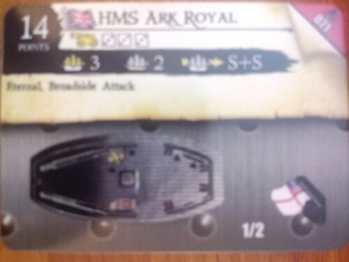 Pirates Fire /& Steel #071 HMS Ark Royal Pocketmodel CSG