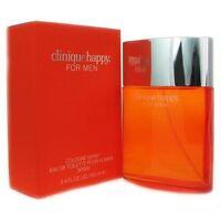 Clinique Happy For Men 3.4 Oz 100 Ml Cologne / Eau De Cologne Spray Box Sealed on sale