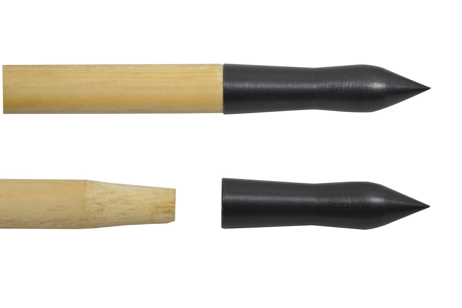12x brünierte bodkinspitze historypoint pointe de adhésive flèche DENTELLE adhésive de diff. tailles 671f8c