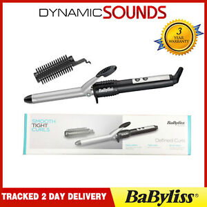 BaByliss 2284U Pro Curl 195°C 19mm Ceramic Barrel Curling Tong Wand With Brush